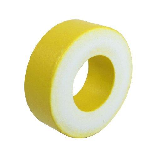 EbuyChX Yellow White Iron Toroidal Transformer Magnetic Core 47mmx24mmx18mm