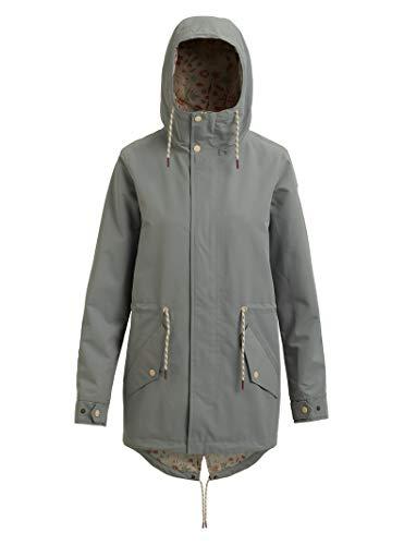 Burton Women's Sadie Rain Jacket, Shadow, Medium
