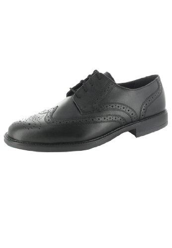 FRETZ men , Chaussures de ville à lacets pour homme Noir Noir