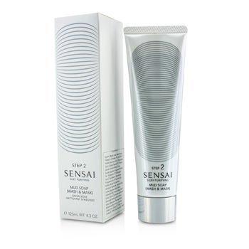 Kanebo Sensai Silky Purifying Mud Soap, Wash and Mask, 4.3 ()