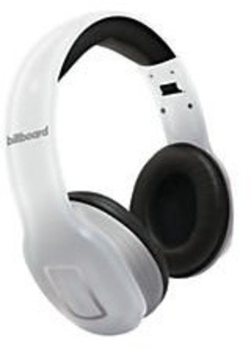 4e2ab15e5d0 Amazon.com: Billboard Bluetooth Wireless Folding Headphones With Enhanced  Bass, Controls, and Microphone - White: Cell Phones & Accessories