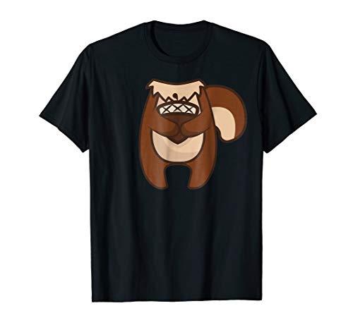 (Chipmunk Costume Shirt - Halloween Chipmunk)