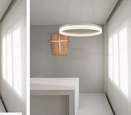 LAMPARA LED TECHO COLGANTE CIRCULAR REDONDO 1 ARO 60CM 3 ...