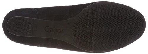 Gabor Ladies Comfort Sport Chiuso Ballerine Blu (blu Notte)