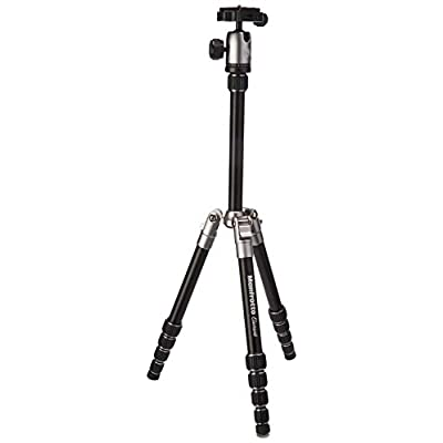 Manfrotto MKELES5GY-BH Element Small Aluminum Traveler Tripod, Gray