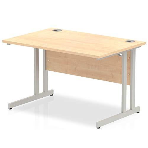 Maple Maestro 1200 x 800 Rectangular Straight Desk