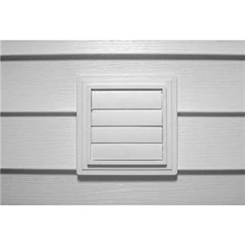 Alcoa Home Exteriors EXVENT PW Louvered Exhaust Vent