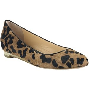 Cole Haan Women's Astoria Ballet Woodbury Ocelot Print Haircalf Flat 10.5 B - Medium (Cole Haan Astoria Ballet compare prices)