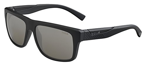 Bolle Clint Sunglasses Matte Black/Shiny, - Sunglasses Clint