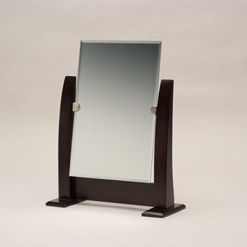 """Display and Fixture Store Adjustable Jewelry Counter-top Mirror Measures 10.5"""""""" Wide by 12 1/2"""""""" Tall."""
