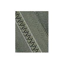 """28\"""" Vislon Zipper ~ YKK #5 Molded Plastic ~ Separating - 567 Olive Green (1 Zipper/ Pack)"""