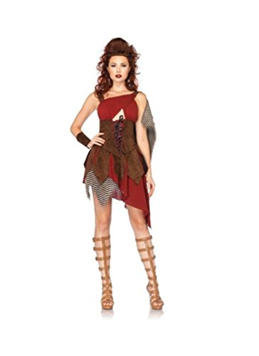 Leg Avenue Suede Costumes (Deadly Huntress Costume - Medium - Dress Size 8-10)