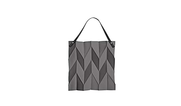 a17c3e3ab75 Amazon.com  Iittala X Issey Miyake Foldable Tote Bag 42 x 43 cm, Dark Grey   Kitchen   Dining