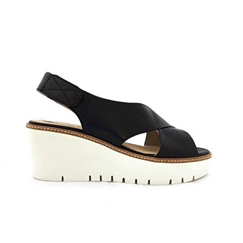 Sandalias y chanclas para mujer, color Negro , marca GEOX, modelo Sandalias Y Chanclas Para Mujer GEOX D DOMEZIA Negro C9999