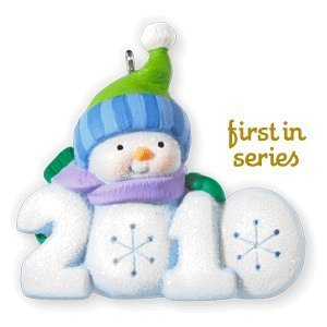 2010 Hallmark Ornament - Frosty Fun Decade #1 In Series 2010 Hallmark Ornament