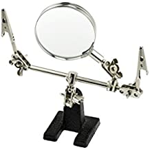 SE MZ101B Helping Hand with Magnifying Glass