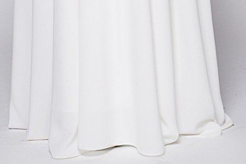 Le Cotiledone Chiffon Fit Sottile In Maxi Nozze Donne Elegante Di Per Partito Da Bianca Cocktail Sera Abito nqBW4zx
