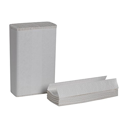 Georgia Pacific Professional 23000 C-Fold Paper Towels, 10 1/10 x 13 1/5, White, 120 Per Pack (Case of 12 Packs)