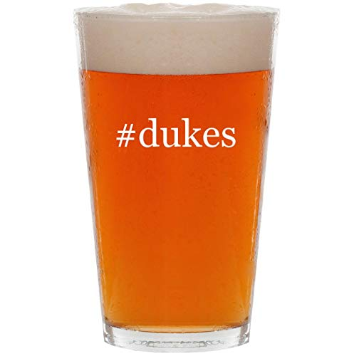 #dukes - 16oz Hashtag All Purpose Pint Beer Glass (Daisy Duke Calendar)