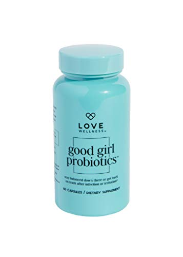 Love Wellness Good Girl Probiotics - Probiotics for Women - 30 Day Supply - Supports Vaginal Health & Urinary Tract Health - Helps Your Overall Digestive Health - Safe & Effective Daily Supplement