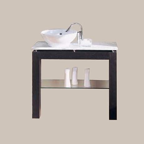 Porcher 30190 00600 Table Frame For Kyomi Series Marble Kit Italian Cherry