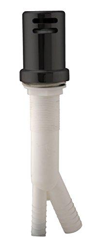 Westbrass Air Gap Kit with Skirted Brass Cap, Matte Black, D200-1-62 ()