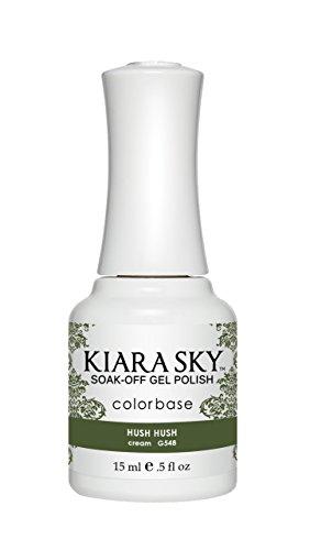 Kiara Sky Gel Polish, Hush Hush, 15 Gram