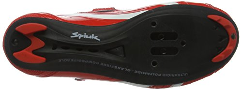 Blanco Spiuk Road Rodda Unisex Zapatillas Rojo wXfq8X4