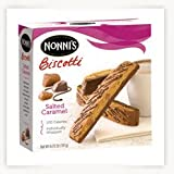 Nonnie's Salted Caramel Biscotti (Pack Of 6, 6.72 OZ Boxes)