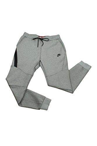 Nike Mens Sportswear Tech Fleece Jogger Sweatpants Light Bone/Black 805162-072 Size Large