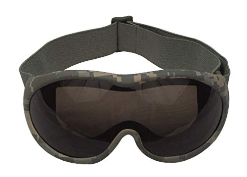 BlackC Sport Goggles Military ACU Digital Camo Shatterproof Lens Tactical (Acu Digital Desert Goggles)