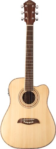Oscar Schmidt OG1CE Acoustic-Electric Guitar - Natural
