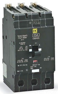 SCHNEIDER ELECTRIC Miniature Circuit Breaker 480Y/277-Volt 30-Amp EGB34030 480Y/277V 30A