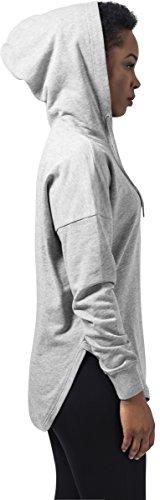 Urban Classics Ladies Oversized Terry Hoody, Sudadera para Mujer Grau (Grey 111)