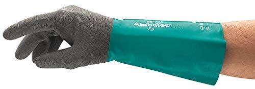 "ANSELL 58-435 Chemical Resistant Gloves 15/""L Nitrile 11"