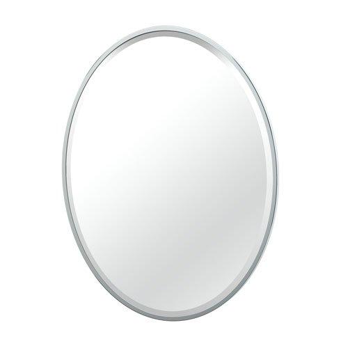 Gatco 1821 Flush Mount Framed Oval Mirror, 33