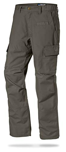LA Police Gear Mens Urban Ops Tactical Cargo Pants - Elastic WB - YKK Zipper - Sierra - 42 x 36 ()