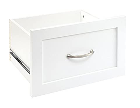 ClosetMaid 4872 SuiteSymphony 16-Inch X 10-Inch Drawer, Pure White