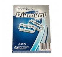 (200 Croma Diamant Stainless Steel Double Edge German Razor Blades 200 CT (MADE IN GERMANY))