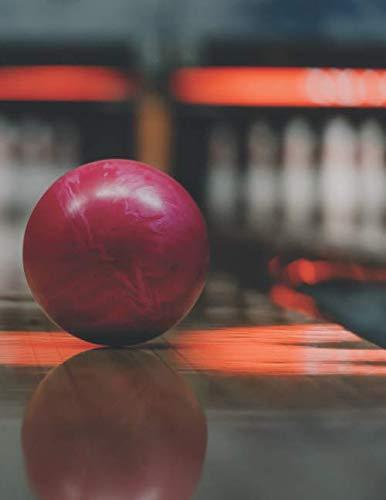 Bowling Scorebuch: Trainingstagebuch für dein Bowlingtraining und deine Bowlingspiele ♦ Führe Protokoll, notiere jeden Strike, Spare und deine ... großzügiges A4+ Format ♦ Motiv: Bowlingkugel por MSED Notizbücher