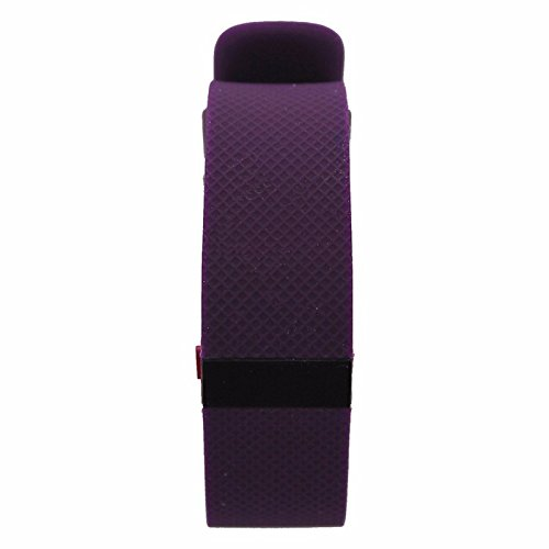 Fitbit Charge HR Wireless Activity Wristband Android iOS - Plum / Small FB405PMS (Certified Refurbished) by Fitbit