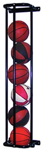 Stack Master Basketball Wall Storage Rack in Black