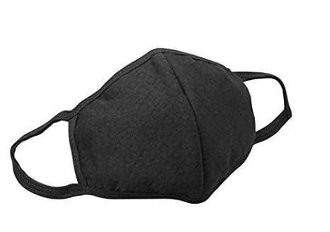 Amazon.com: Tapabocas Con Carbón Activado Cubrebocas Protector De Polvo, Polen, Gripe Y Alergias, Color Negro, Unisex - 3 Unidades: Clothing
