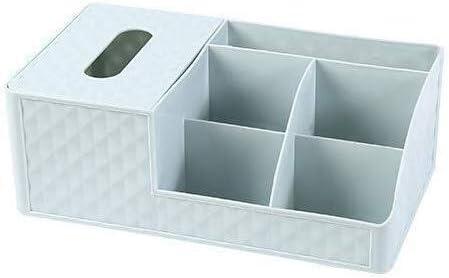 XWYSSH主催 化粧品収納ボックス化粧品プラスチック製の収納ボックスオフィスストレージボックス XWYSSH (色 : 青)