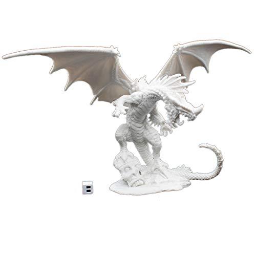 Reaper 89001: Red Dragon - Pathfinder Bones Plastic -