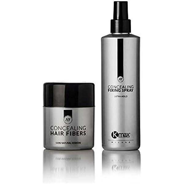 Kmax Concealing Hair Fibers – Fibre capillari – 27,5 g gris ...