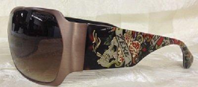 Ed Hardy Brad 2 Sunglasses Tortoise