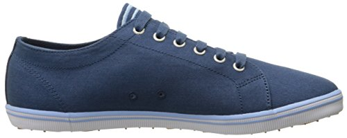 Blue Oxford Fred de Hombre Zapatos Perry Twill Glacier para Cordones Kingston Midnight xwYvBqw6Z