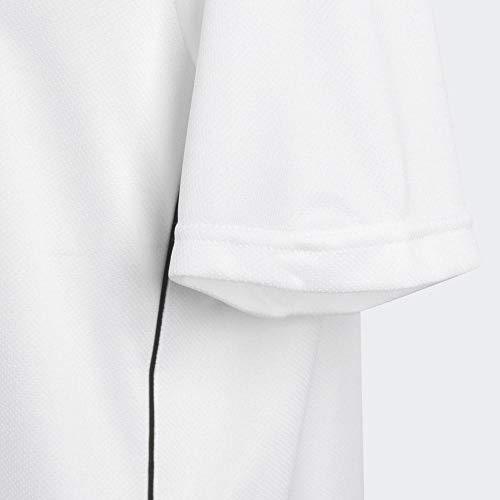 2483973-adidas-Core18-JSY-Y-Maglietta-da-Calcio-Unisex-Bambini-Bianco-White-B miniatura 2