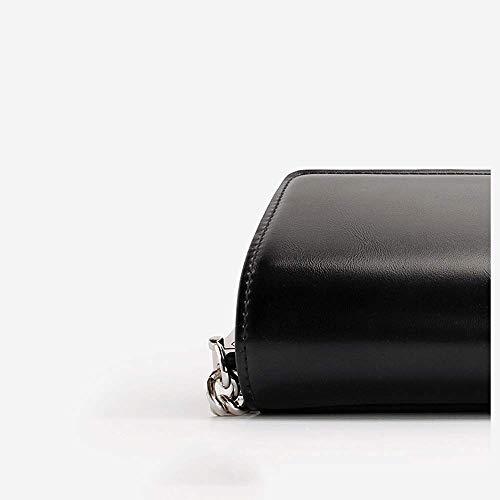 Bolso Bolso Color con sólido pequeño Hombro de Femenino Cuadrado Remache de Messenger Cadena 2018 de Bolso x1aXqwvSnt
